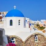 Santorini church (Oia), Greece — Stock Photo #5477413