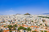 View of Athens from Acropolis, Greece — Stock Photo