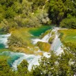 Waterfall KRKA in Croatia — Stock Photo #5528934