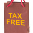 Shopping bag Tax Free — Stock Photo #5562014