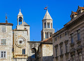 Diocletian palace in Split, Croatia — Stockfoto