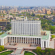 White House, center of Russian government in Moscow, Russia — Stock Photo #5607482
