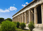 Starověká agora v athénách, řecko — Stock fotografie