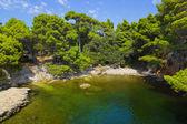 Lake at Croatia — Stock Photo