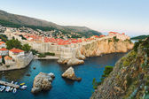 Sunset at Dubrovnik, Croatia — Stock Photo