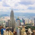 Kuala Lumpur (Malaysia) city view — Stock Photo