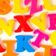 Stock Photo: Multicolored letters