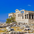 Erechtheum temple in Acropolis at Athens, Greece — 图库照片