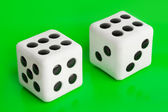 Two gambling dices — Stock Photo