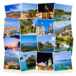 Stack of Croatia travel photos — Stock Photo #5833494