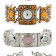 Set of woman watches — Stock Photo