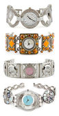 Set of woman watches — Fotografia Stock