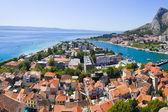 Town Omis in Croatia — Stock Photo