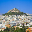 Lycabettus hill at Athens, Greece — Stock Photo