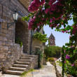 Stock Photo: Street at Omis, Croatia