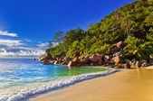 Tropical beach at evening — Stock Photo