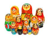 Russian toy matrioska — Stock Photo