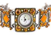 Macro di orologio — Foto Stock