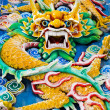 Stock Photo: Dragon in TheHou Temple at KualLumpur (Malaysia)