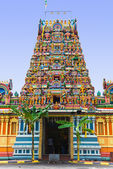 Hindu temple at Kuala Lumpur Malaysia — Stock Photo