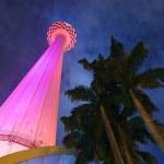 Menara tv tower at Kuala Lumpur (Malaysia) — Stock Photo #5998342