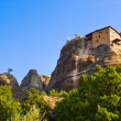 Meteora monastery in Greece - Stock Photo