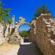 Ruins of old town in Mystras, Greece — Stock Photo #6026932
