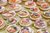 Ceramics souvenir shop — Stock Photo