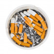 Ashtray and cigarettes — Stock Photo