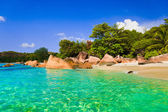 Beach Anse Lazio at Seychelles — Stock Photo