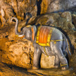 Statue at Batu caves, Kuala-Lumpur, Malaysia — Stock Photo