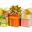 Three gifts — Stockfoto