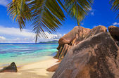 Beach Source d'Argent at Seychelles — Stock Photo