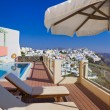 Santorini view - Greece — Stock Photo