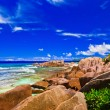 Royalty-Free Stock Photo: Tropical beach at Seychelles