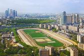 Moscow hippodrome — Stock Photo