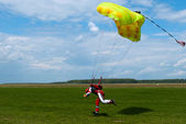Parachuter — Stock Photo