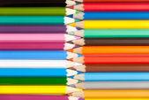 количество цветных карандашей — Стоковое фото