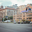 Kiev city area - Stock Photo