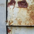 Metal old background with crack and rust texture — Stock Photo