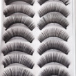 False eyelashes — Foto Stock