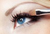 Eye makeup — Stock Photo