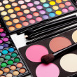 Make-up palette — 图库照片