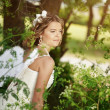 Angelic bride — Stock Photo #5692078