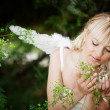 Stock Photo: Angelic bride