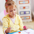 Royalty-Free Stock Photo: Child painting