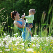 Happy mother with her child — Stock Photo #6033906