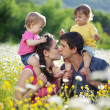 Happy family — Stock Photo #6033914