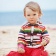 Royalty-Free Stock Photo: Child at the beach