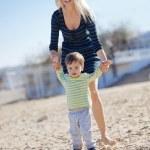 Family leisure — Stock Photo
